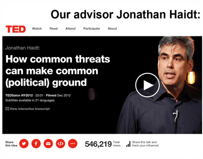 Jonathan Haidt: Join the Asteroids Club