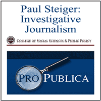 Paul Steiger on Pro Publica and Investigative Journalism